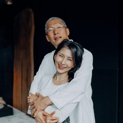 Master Yu, Jae-Sheen and his wife SooJin Kim